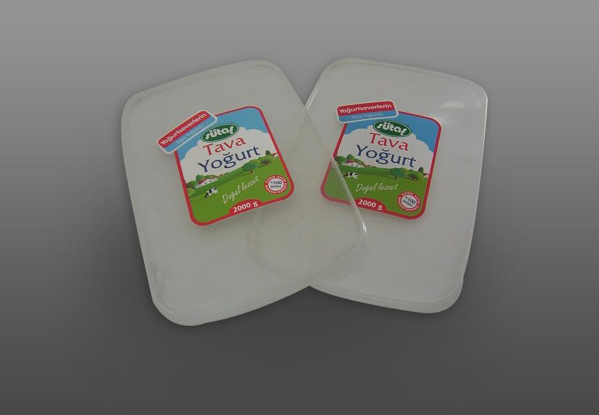 tava yoğurt kapak